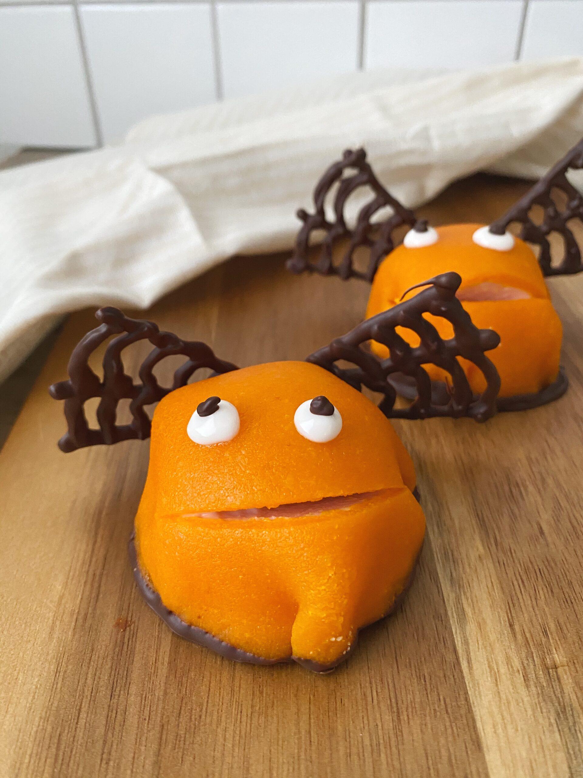 Orange halloween Kajkage